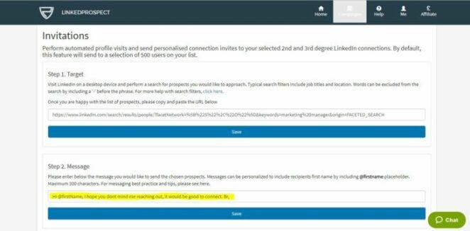 linkedprospect   linkedin lead generation software